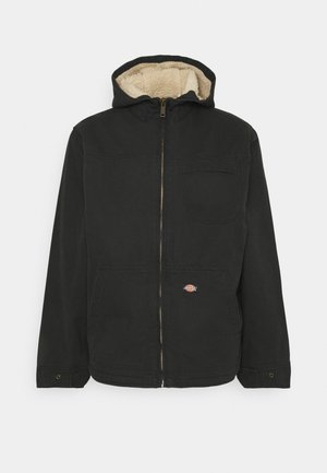 DUCK SHERPA JACKET - Light jacket - black
