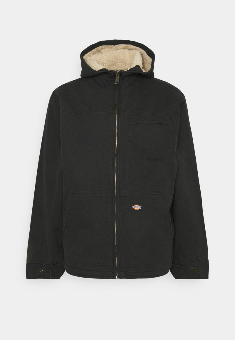 Dickies - DUCK SHERPA JACKET - Light jacket - black