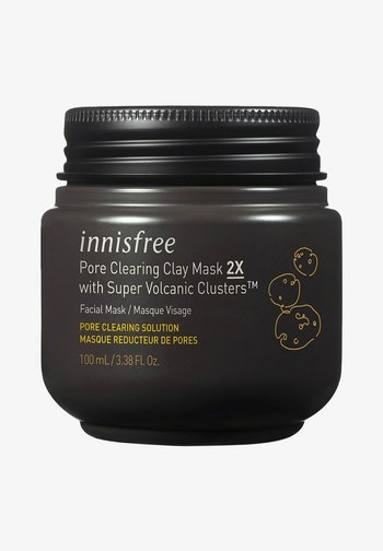 PORE CLEARING CLAY MASK 2X MIT SUPER VOLCANIC CLUSTERS™ - Face mask - -