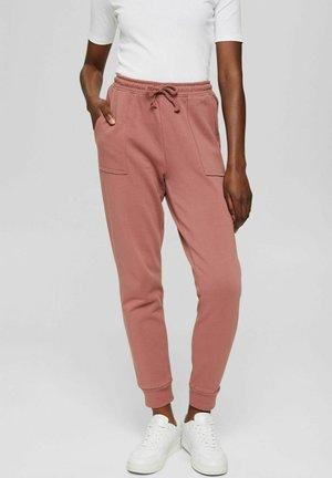 Tracksuit bottoms - dark old pink