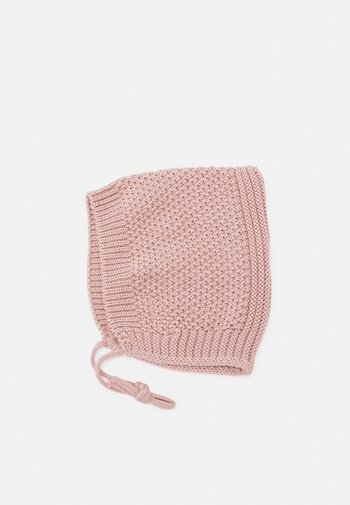 BABY TIE HAT UNISEX - Beanie - rosa taupe