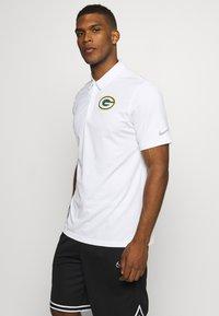 Nike Performance - NFL GREEN BAY PACKERS TEAM LOGO FRANCHISE - Klubbkläder - white - 0