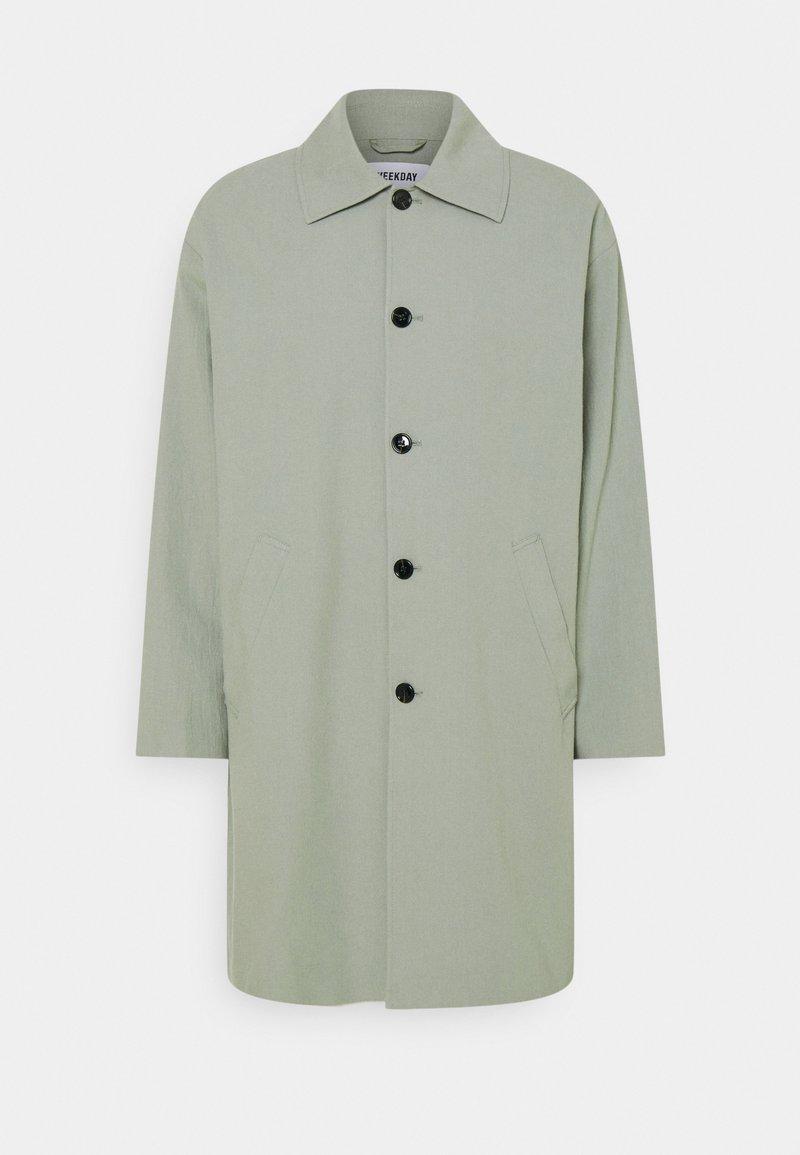 Weekday - DARYL STRUCTURED COAT - Kort kappa / rock - green