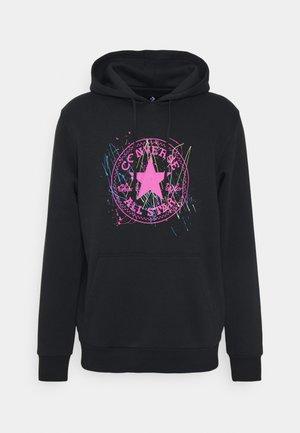 SPLATTER PAINT HOODIE - Sweatshirt - black