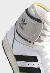 adidas Originals - TOP TEN DE - Sneakers hoog - white - 5