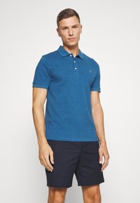 Farah - BLANES  - Koszulka polo - blue grape marl - 0