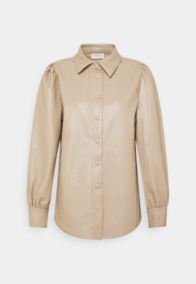 Skjorte - beige/sand