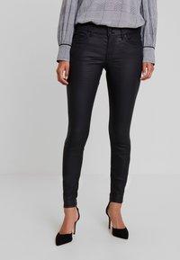 TOM TAILOR DENIM - JONA - Jeans Skinny Fit - black denim - 0