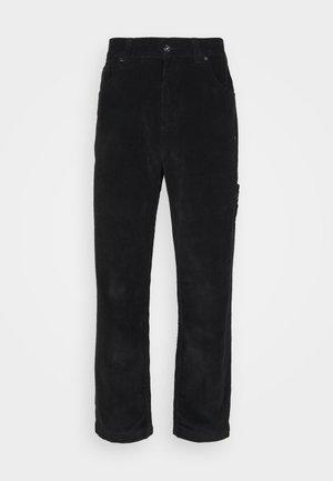 CARPENTER TROUSER - Spodnie materiałowe - black
