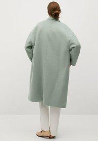 Mango - PICAROL - Klasyczny płaszcz - vert menthe - 2