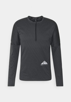 TRAIL - Treningsskjorter - black/dark smoke grey