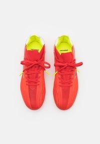 adidas Performance - X SPEEDFLOW.1 FG UNISEX - Kopačky lisovky - red/core black/solar red - 3