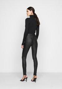 ONLY Tall - ONLOPTION SUPER COAT  - Jeans Skinny Fit - black - 2