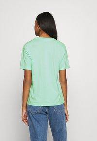 Fila - EARA TEE - Basic T-shirt - beach glass - 2