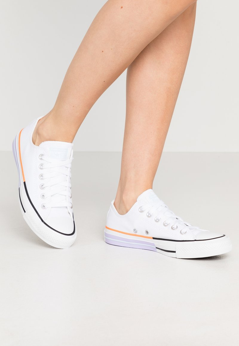 Converse - CHUCK TAYLOR ALL STAR - Trainers - white/agate blue