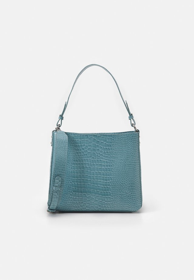 AMBLE CROCO - Handtas - baby blue