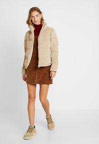 ONLY - ONLCOLE PADDED JACKET - Winter jacket - beige - 1