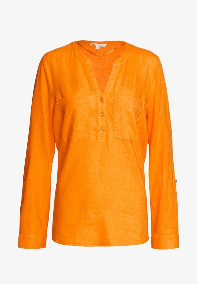 Blouse - orange yellow