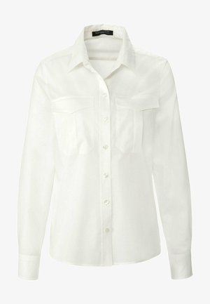 Button-down blouse - offwhite