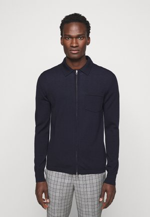 NYLE ZIP  - Cardigan - navy