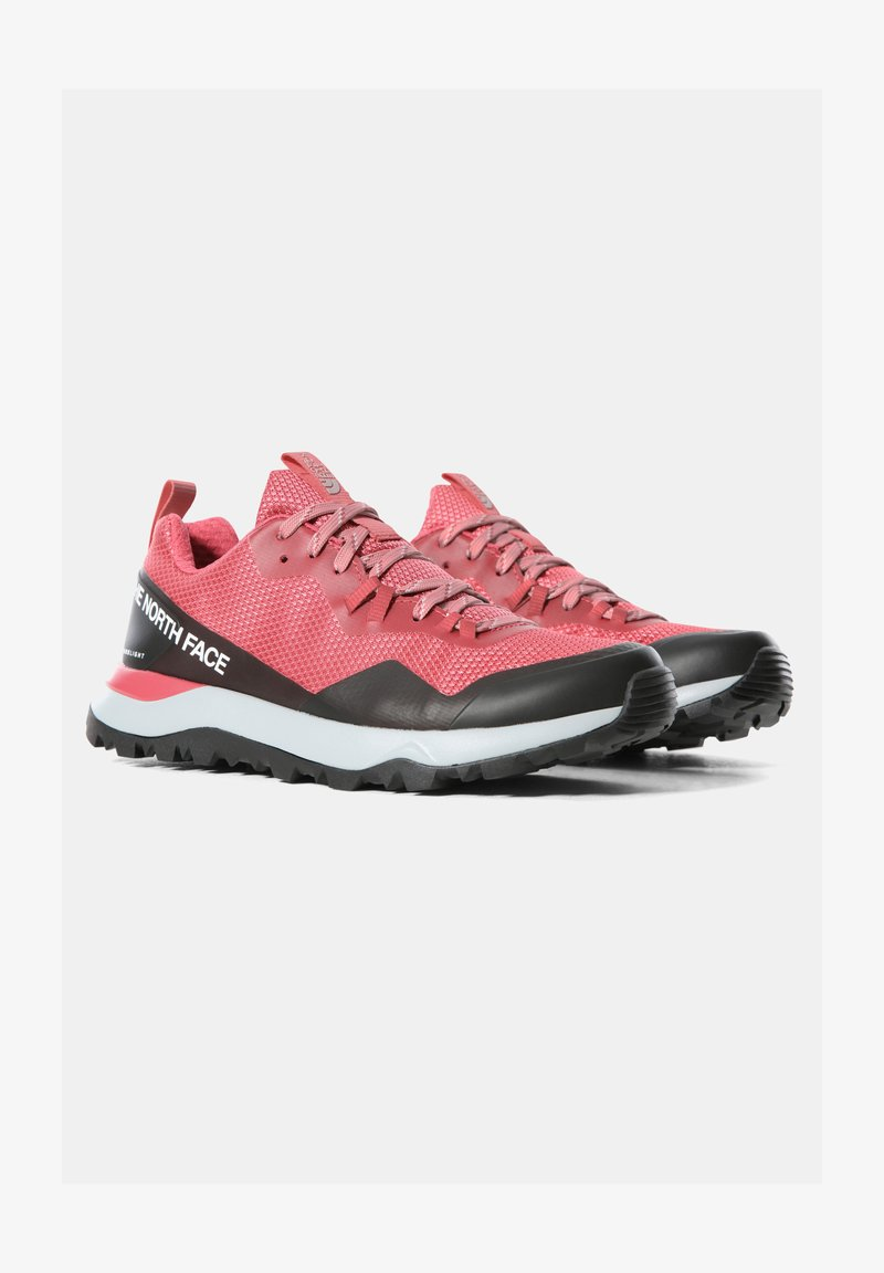 The North Face - W ACTIVIST FUTURELIGHT - Hiking shoes - holly berry/blush