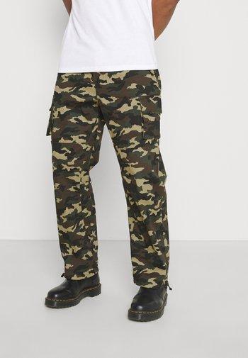 WOODLAND UTILITY TROUSER - Cargo trousers - khaki