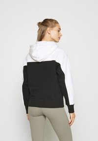 Champion - HOODED LEGACY - Jersey con capucha - black/white - 2