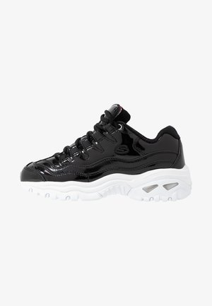 ENERGY - Baskets basses - black/metallic/white