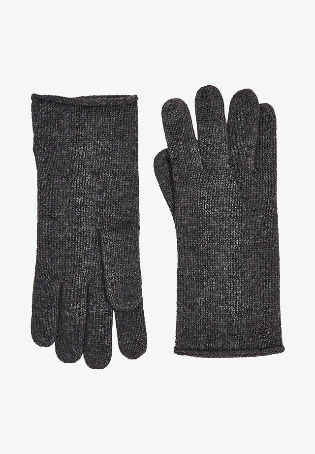 Fingerhandschuh - dark grey