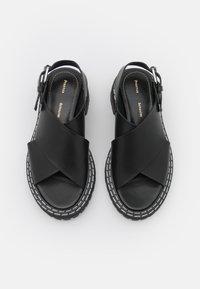 Proenza Schouler - LUG SOLE - Sandály na platformě - black - 4