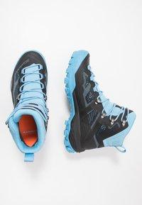 Mammut - DUCAN HIGH GTX WOMEN - Hiking shoes - black/whisper - 1