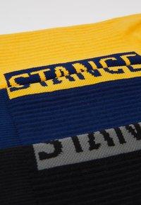 Stance - 3 PACK - Calcetines - black/yellow/dark blue - 2