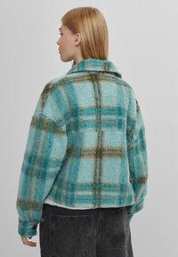 Bershka - Summer jacket - turquoise - 2