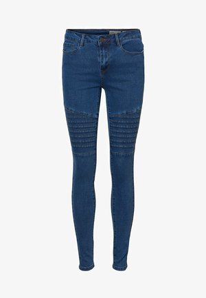 VMHOT  - Jeans Skinny Fit - medium blue denim