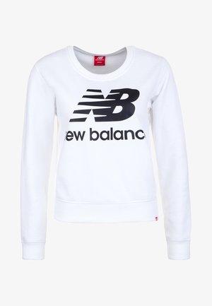 ESSENTIALS  - Sweatshirt - white / black