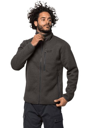 ROBSON FJORD - Fleece jacket - braun