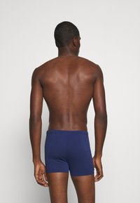 Arena - ESSENTIALS - Swimming trunks - navy/white - 1