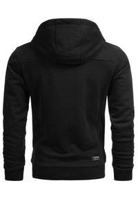 Alessandro Salvarini - Zip-up sweatshirt - schwarz - 2