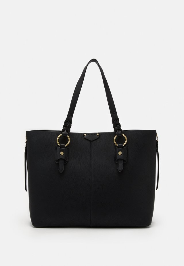 PLAIT TRIP - Shopping bag - black
