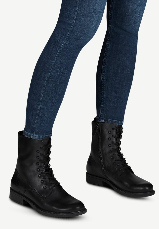 STIEFELETTE - Cowboy- / bikerstøvlette - black