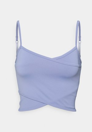 WINTER CROSS FRONT VESTLETTE - Top - periwinkle