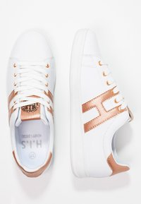 H.I.S - Trainers - white/rosegold - 2