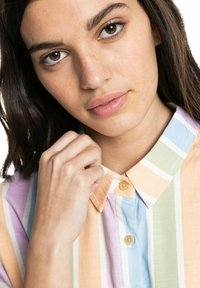 Quiksilver - PACIFIC DAZE  - Button-down blouse - sherbet stripe peach - 4