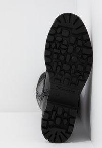 Tamaris - Snørestøvler - black - 6