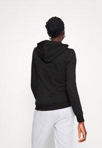 Even&Odd Tall - Zip-up hoodie - black - 2