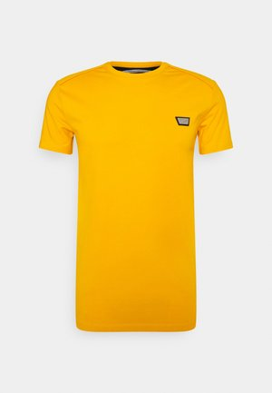 SUPER SLIM FIT - Basic T-shirt - oro