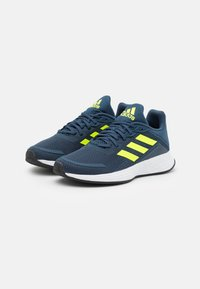 adidas Performance - DURAMO  - Sports shoes - crew navy/solar yellow/halo silver - 1