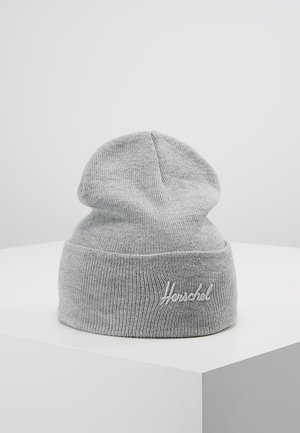ADEN BEANIE - Berretto - heather light grey