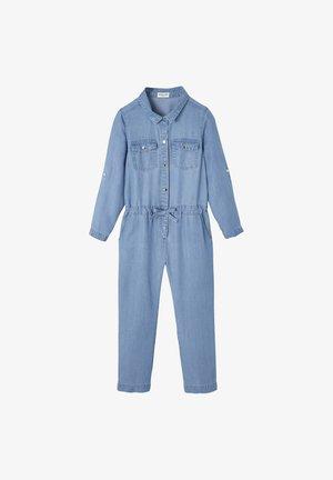 Jumpsuit - stone blue denim
