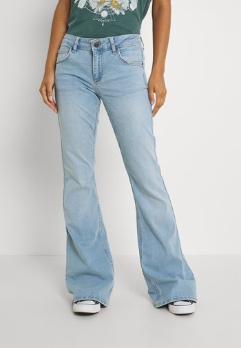 LOW RISE FLARE - Flared jeans - vintage